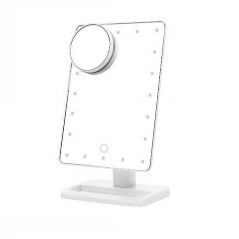 Image of LED Desktop Make up Mirror - QuantumBitz