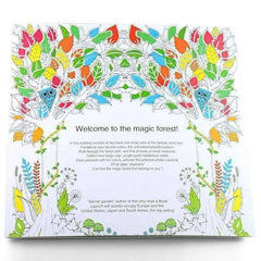 Coloring Book 'Enchanted Forest'
