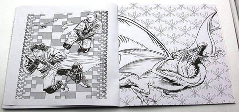 Image of Coloring Book 'Harry Potter' - QuantumBitz