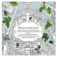 Coloring Book 'Time Travel'