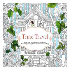 Coloring Book 'Time Travel' - QuantumBitz