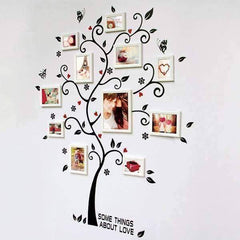 Chic Family Tree Wall Vinyl Sticker