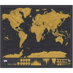 World Scratch Of Travel Map
