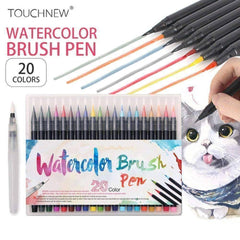 Watercolor Brush Pen Set - QuantumBitz