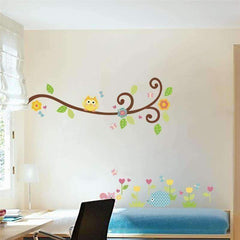 Cute Owl Wall Sticker Designs
