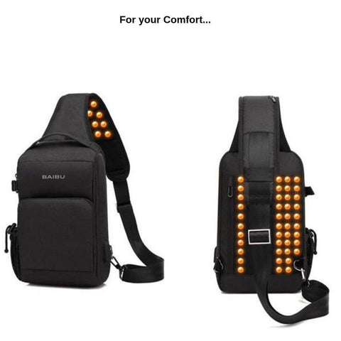 Anti-Theft Shoulder Crossbody bag