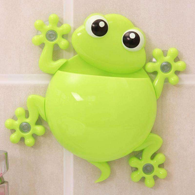 Bathroom 'Frog' Tootbrush Holder - QuantumBitz