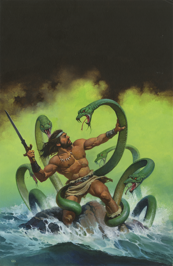 Sagard the Barbarian -The Green Hydra