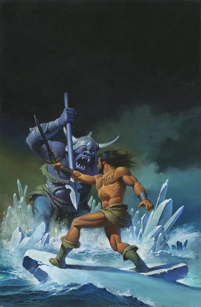 Sagard the Barbarian - The Ice Dragon