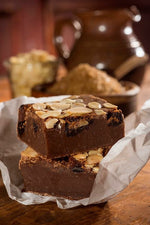Load image into Gallery viewer, Morello Cherry & Almond Brownie
