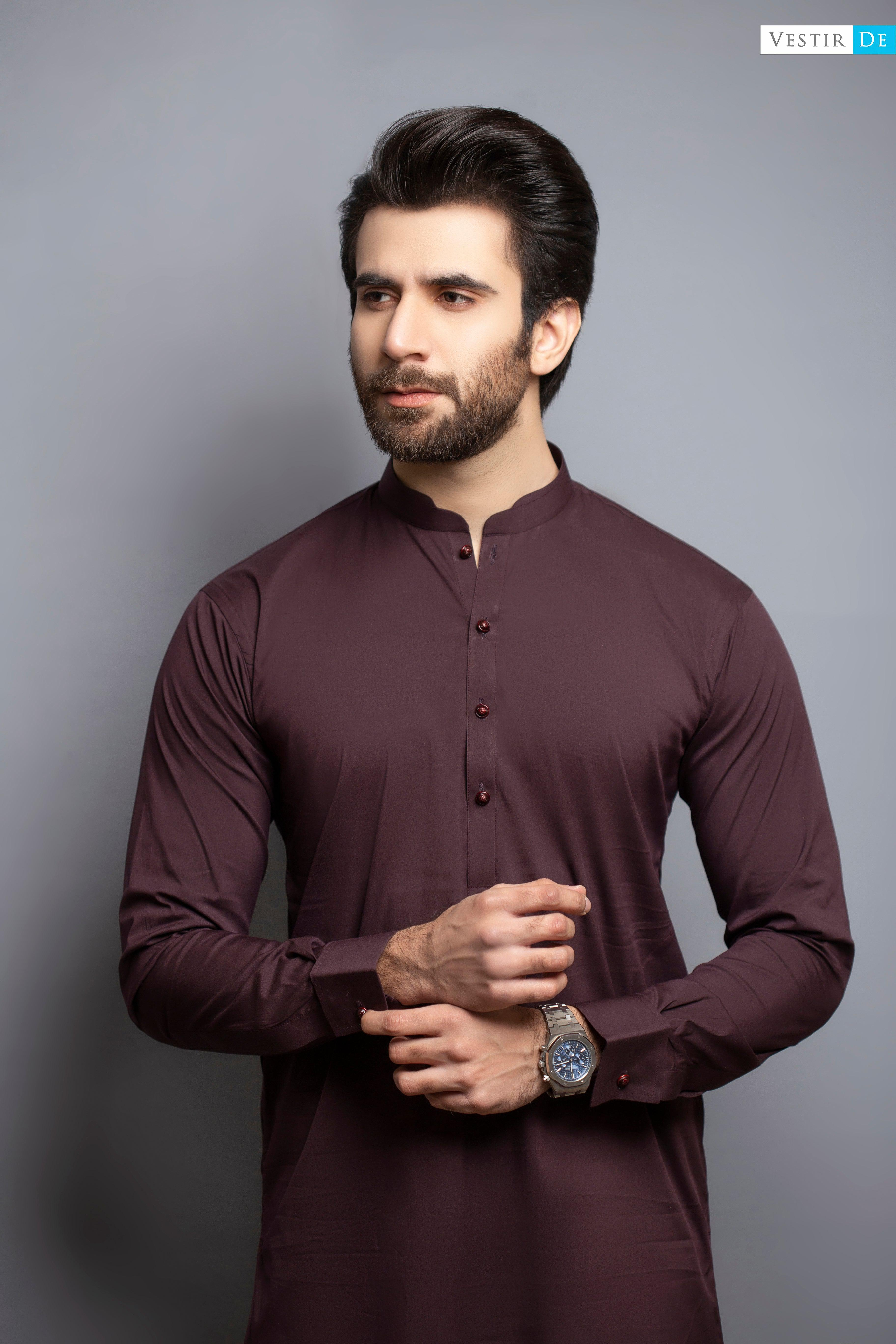 Copy of Choco Rust Kurta Trouser