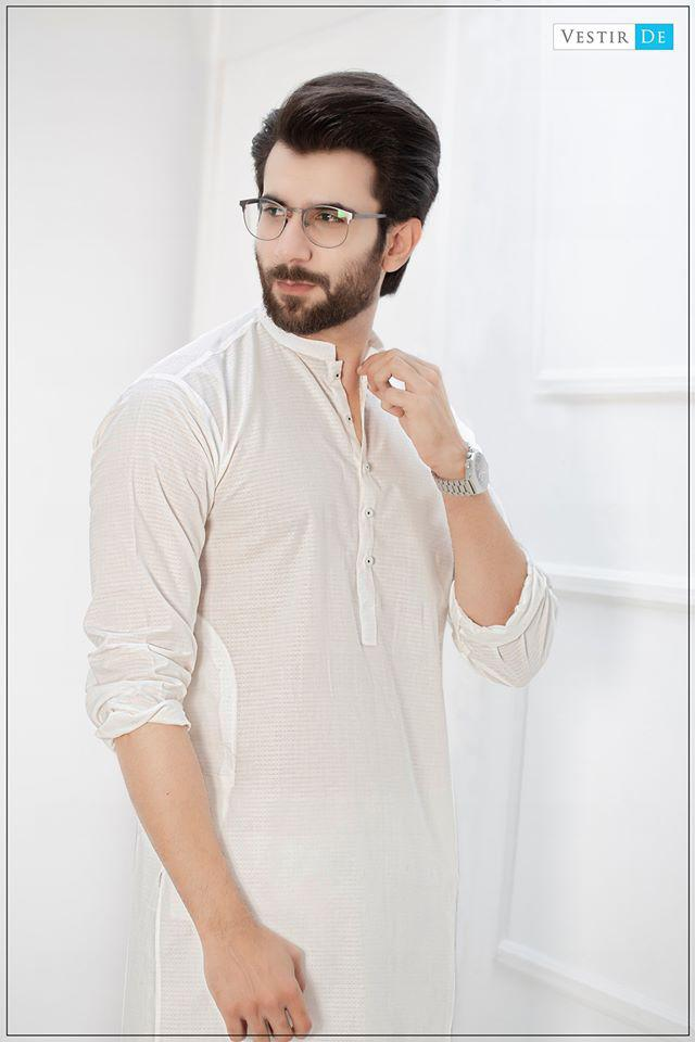 Creamy Texture Kurta With Trouser