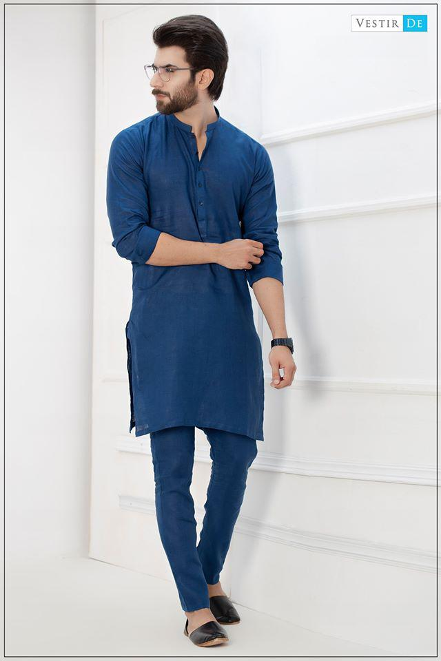Irish Blue Kurta With Trouser