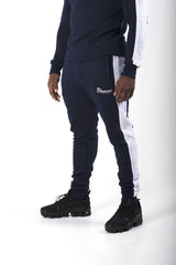 Cheemozé Men's Embroidered Midnight Blue Tracksuit