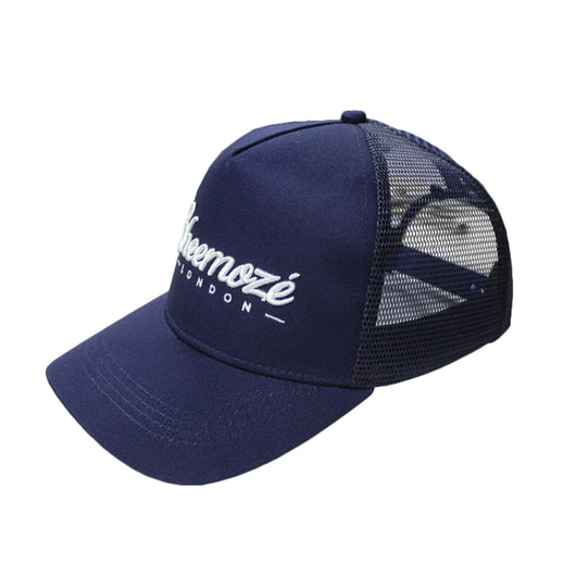 Navy Cheemozé London Trucker Cap