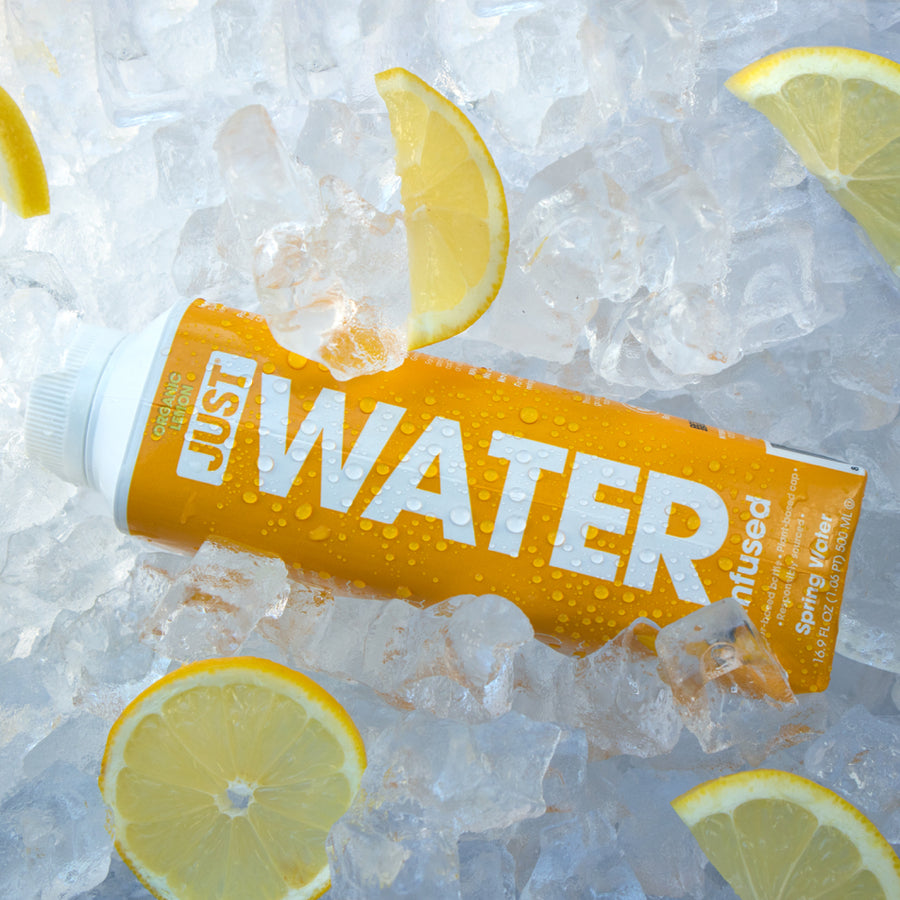 Organic Lemon | 24 Pack - JUST WATER