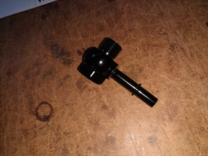 Fuel line quick disconnect banjo fitting -8ORB