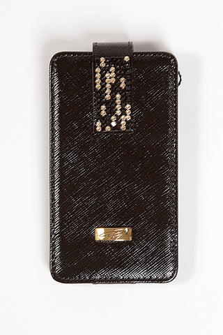 Prada Black Leather Phone Case(Universal)