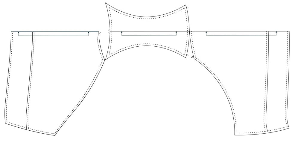The Jane Plain basic, easy plus size panties pattern