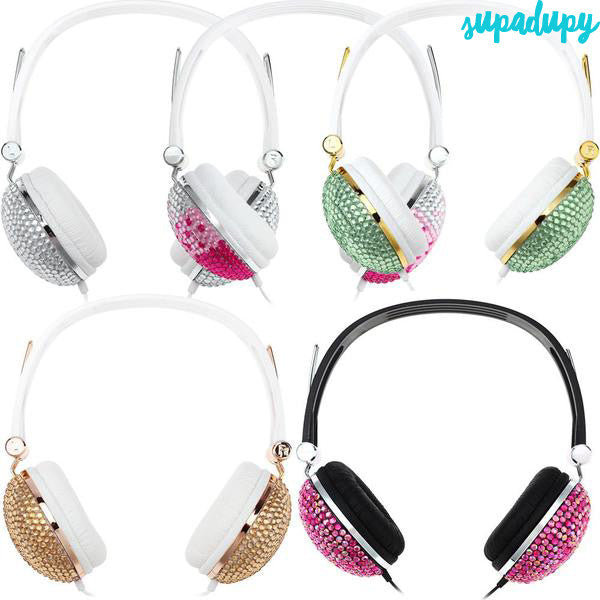2017 Bling Diamonds Headphones
