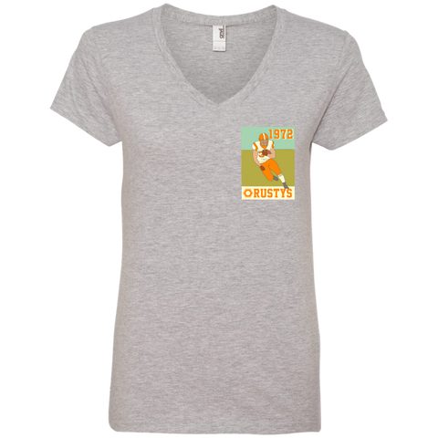 Rusty's - Ladies' V-Neck Tee