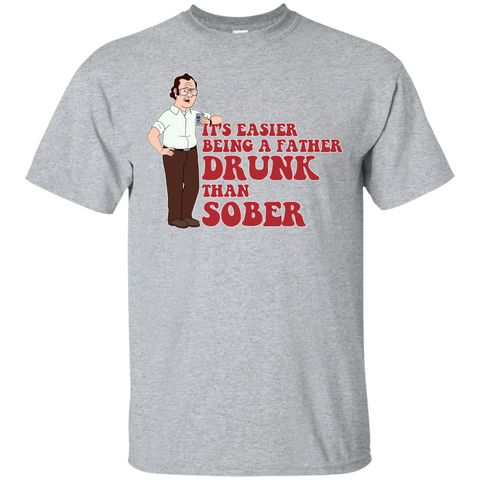 Drunk Father - Custom Ultra Cotton T-Shirt