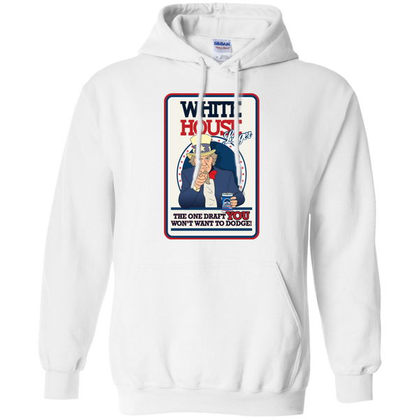White House - Pullover Hoodie 8 oz