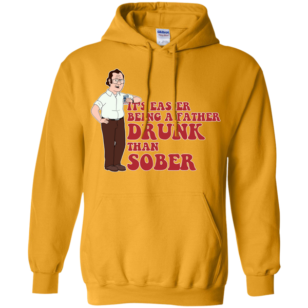Drunk Father - Pullover Hoodie 8 oz