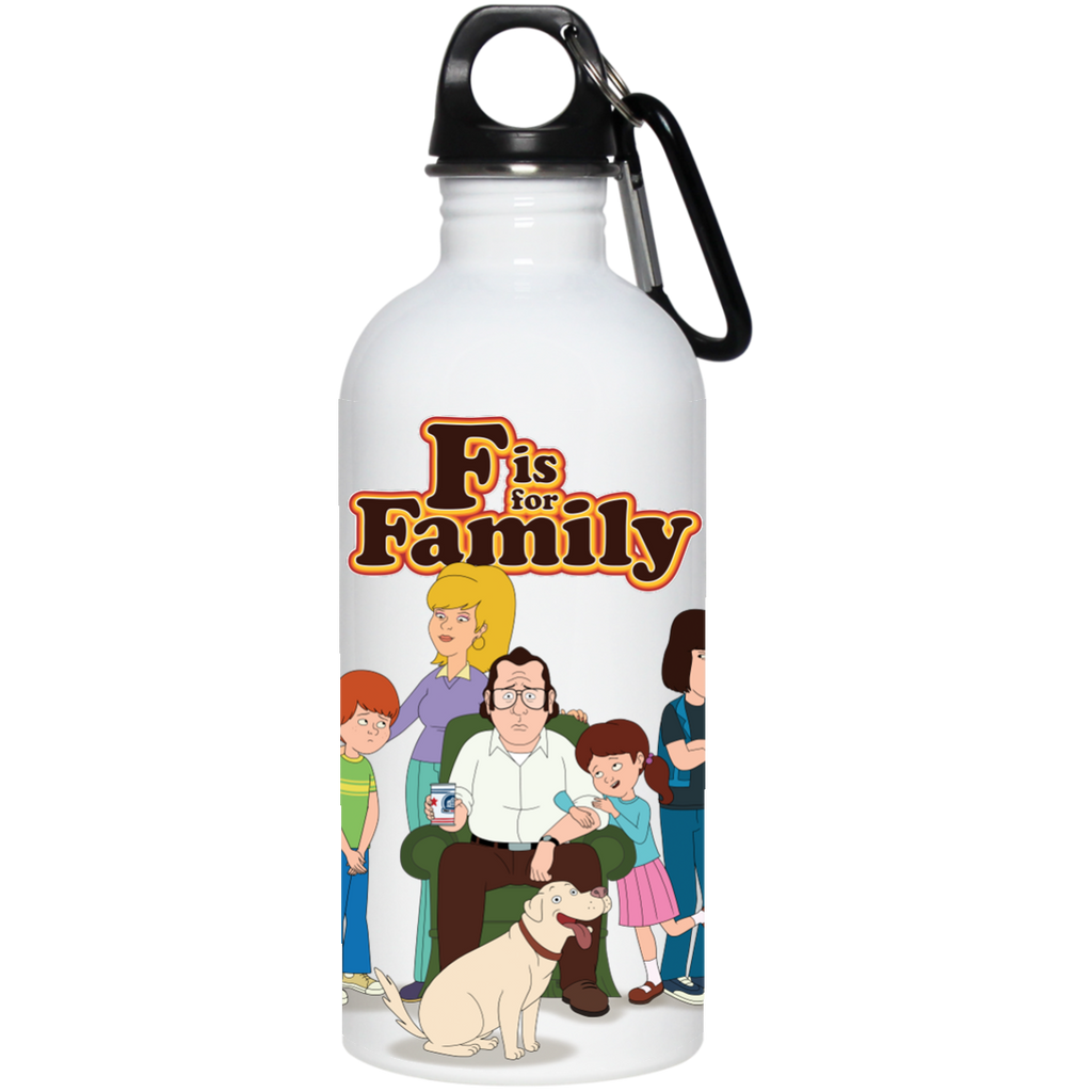 Family - 20 oz Stainless Steel Water Bottle