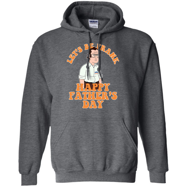 Let's Be Frank - Pullover Hoodie 8 oz