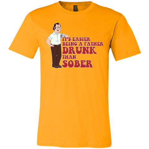 Drunk Father - Bella + Canvas Unisex Jersey Short-Sleeve T-Shirt