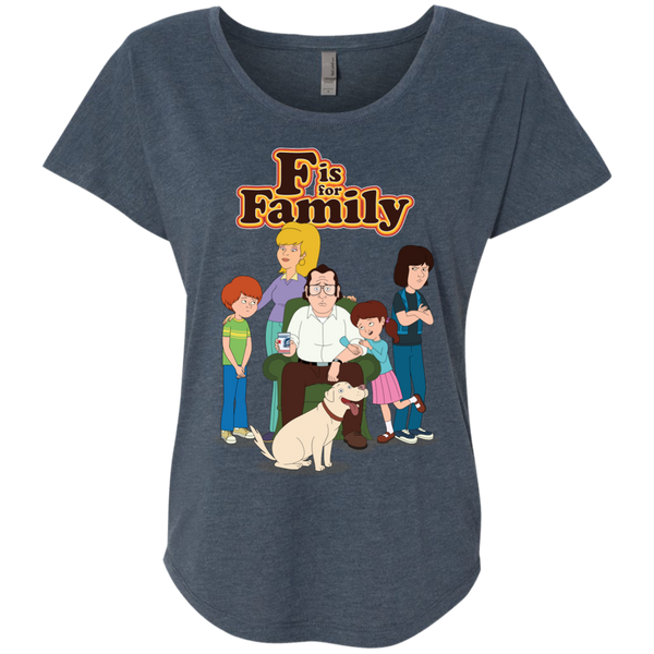 Family - Next Level Ladies Triblend Dolman Sleeve