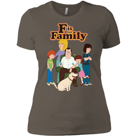 Family - Next Level Ladies' Boyfriend Tee