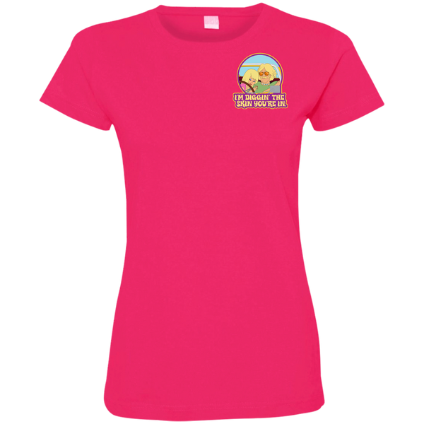 Vic - Ladies Fine Jersey T-Shirt
