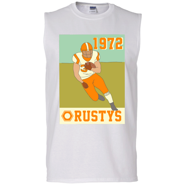 Rusty's Men's Cotton Sleeveless Tee