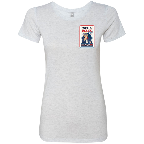 White House - Next Level Ladies Triblend T-Shirt