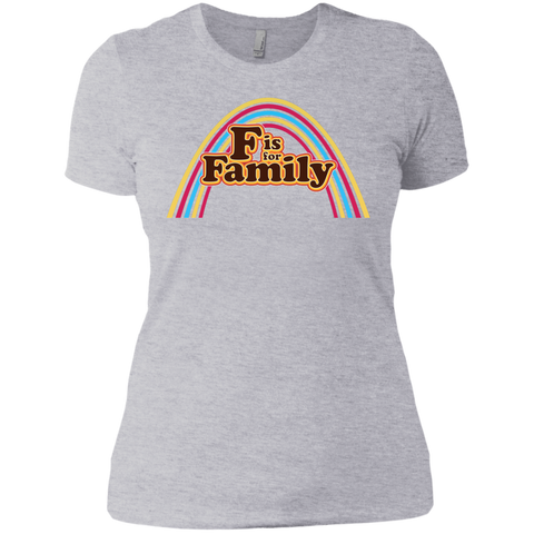 FIFF - Next Level Ladies' Boyfriend Tee