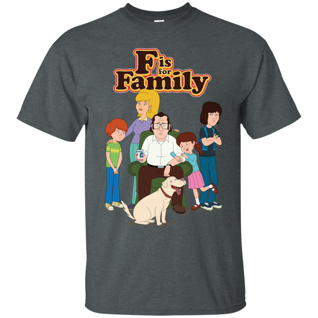 Family custom ultra cotton t shirt f is for family for Custom cotton t shirts