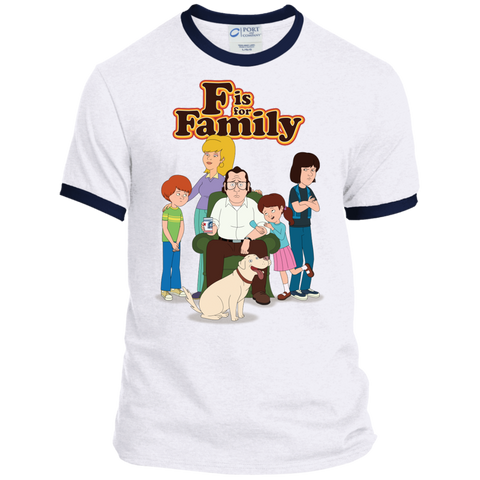 Family - Personalized Ringer Tee