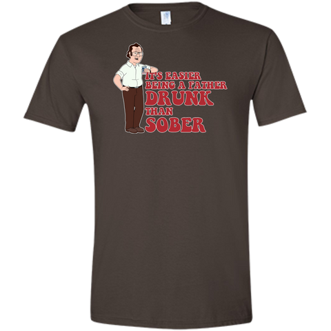 Drunk Father - Softstyle T-Shirt