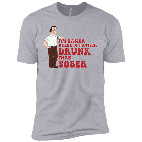 Drunk Father - Next Level Premium Short Sleeve Tee