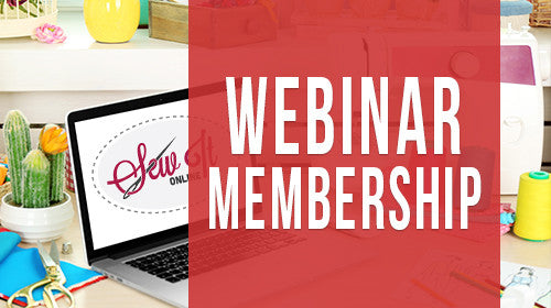 Sew It Online - Yearly Membership - Sew It Online