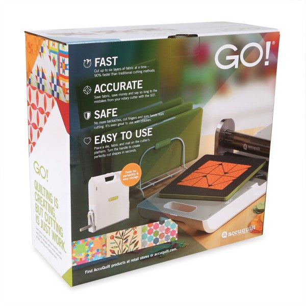 GO! Fabric Cutter Starter Set - Sew It Online