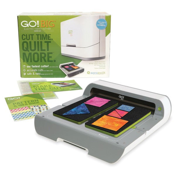 GO! BIG  Electric Fabric Cutter Starter Set