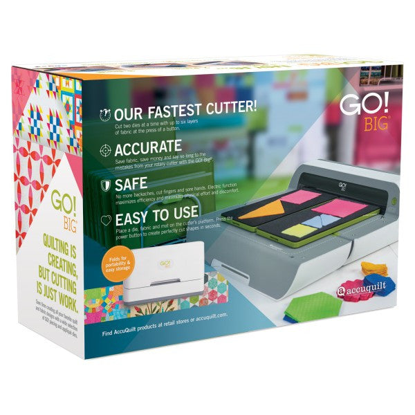 GO! BIG Electric Fabric Cutter Starter Set - Sew It Online