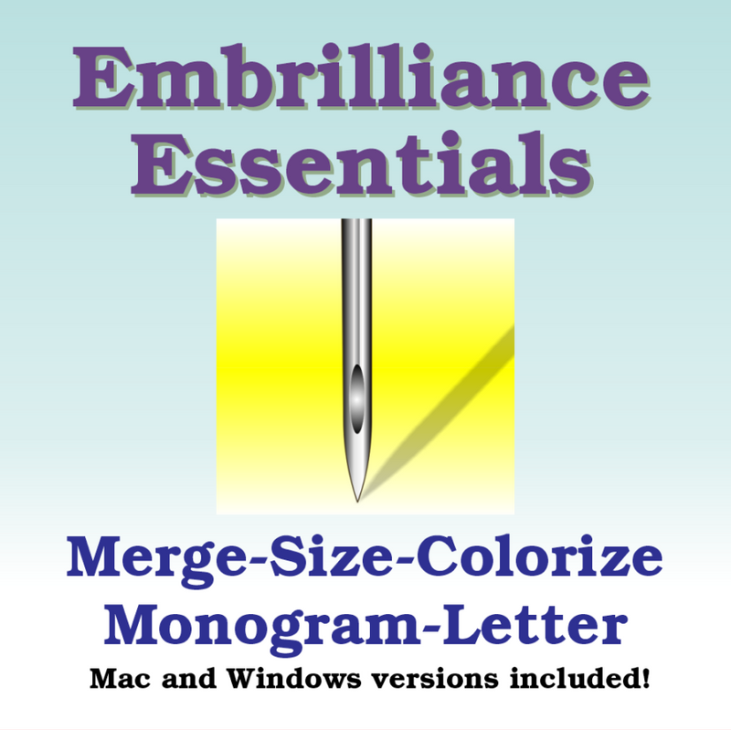 Embrilliance Essentials - Sew It Online