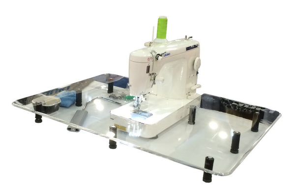 "Sew Steady Free Motion Table 24"" x 32"" - For Large Machines with Beds Longer than 13""."