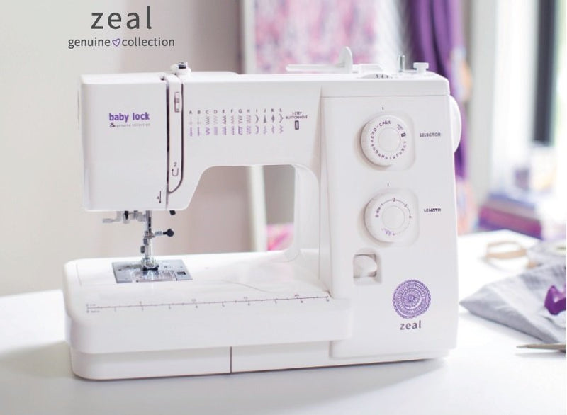 Baby Lock Zeal - Sew It Online
