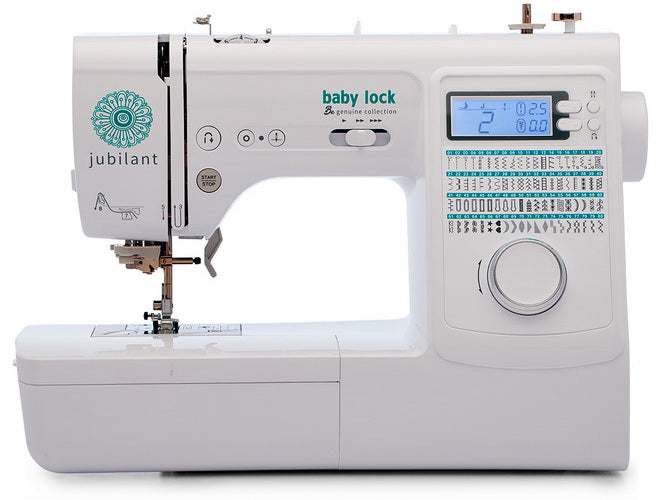Baby Lock Jubilant Sewing Machine - Sew It Online