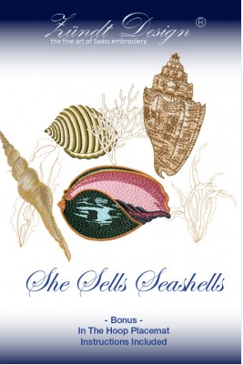 ZUNDT - SHE SELL SEA SHELLS (CD) - Sew It Online